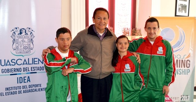 ¡Aguascalientes será sede del Mundial de Natación para Atletas con Discapacidad Intelectual!