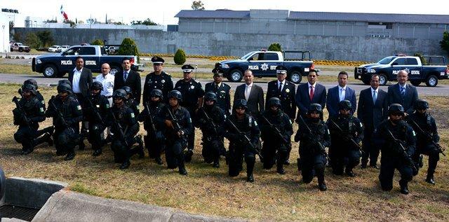¡Fortalece gobernador corporaciones de seguridad pública con más de 25 mdp en equipamiento!