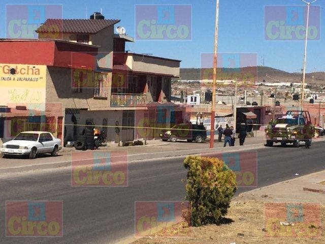 ¡Ejecutaron a un hombre en el boulevard Jesús Varela Rico de Fresnillo!