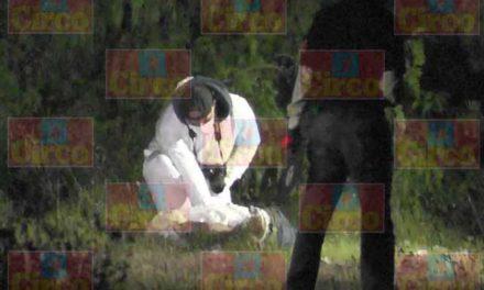 ¡Hallaron a un hombre ejecutado y maniatado en un monte en Fresnillo!