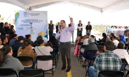 ¡El Gobernador entrega y supervisa infraestructura vial y social en San José de Gracia por más de 37 MDP!