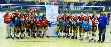 ¡Gallas de la UAA campeonas en voleibol de la Liga Estatal Universitaria!
