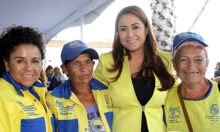 ¡Festeja Tere Jiménez a quienes con su esfuerzo hacen un Aguascalientes más limpio!