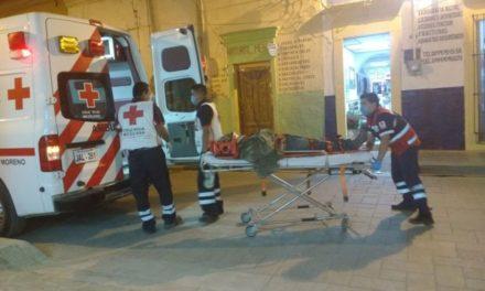 ¡Lesionado hombre atropellado por camión urbano en Lagos de Moreno!