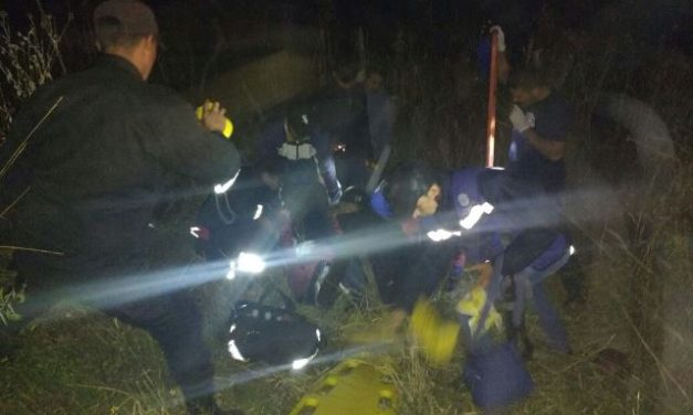 ¡Pareja de guanajuatenses lesionada tras caer de una motocicleta en Unión de San Antonio, Jalisco!