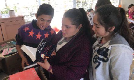 ¡IEA realiza donación de 2 mil libros a telesecundarias!