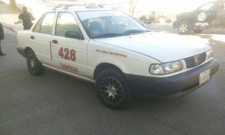 ¡Elementos de la PEP detuvieron a un narco-taxista en Zacatecas!