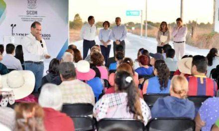 ¡Entrega el gobernador ampliación de avenida Independencia con beneficio para 30 mil personas!