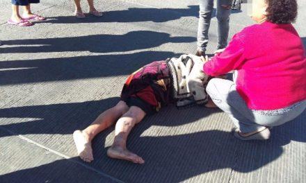 ¡Ancianita murió atropellada por un motociclista en Aguascalientes!