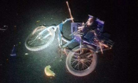 ¡Ciclista murió embestido por un vehículo en Aguascalientes!