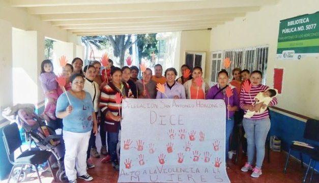 ¡Ofrecen en Jesús María pláticas para prevenir la violencia contra las mujeres!