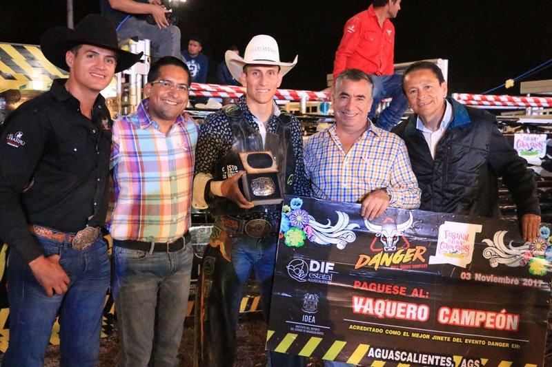 ¡Espectacular Torneo de Rodeo ofreció Danger Company en Aguascalientes!