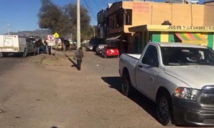 ¡Mini-comando armado secuestró a un comerciante en Fresnillo!
