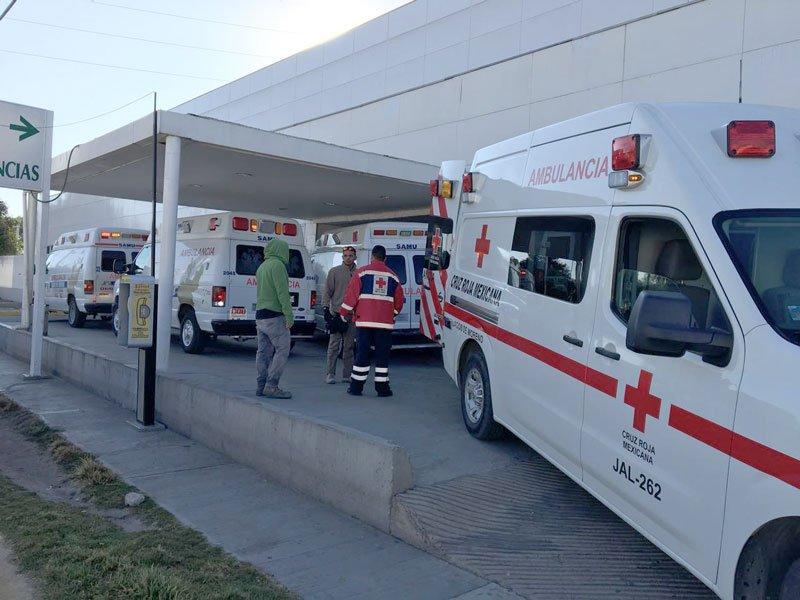 ¡5 lesionados fue el saldo de una volcadura en la carretera Lagos de Moreno-San Luis Potosí!