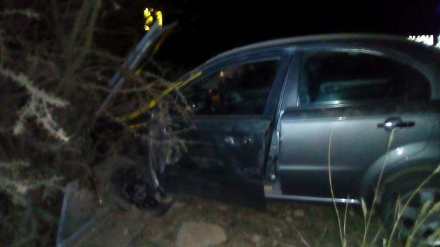 ¡Fuerte choque entre una camioneta y un automóvil en Ojuelos, Jalisco!