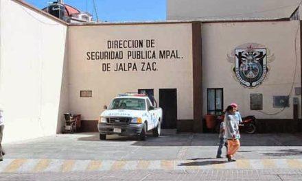 ¡Atacaron a balazos a policías municipales de Jalpa, Zacatecas!