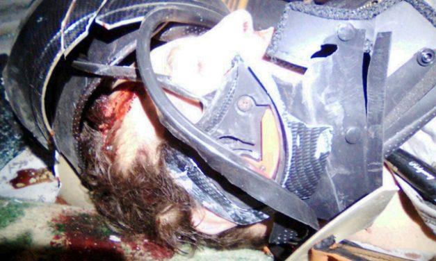 ¡Motociclista murió tras chocar contra una camioneta en Lagos de Moreno!