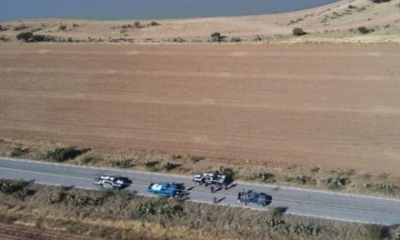 ¡Policías estatales rescataron en Enrique Estrada, Zacatecas, a un hombre que fue secuestrado!