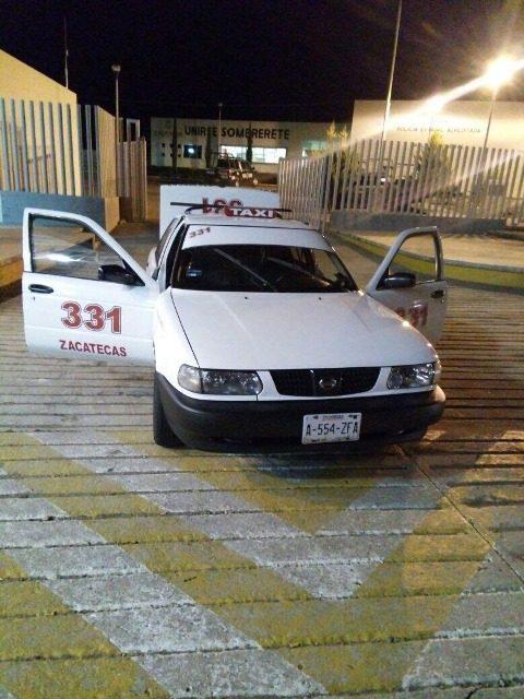 ¡Policías estatales liberaron en Sombrerete a taxista de Zacatecas que fue privado de su libertad!