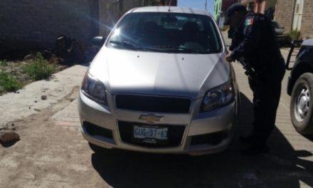 ¡Policías estatales rescataron a un hombre privado de su libertad en Zacatecas!