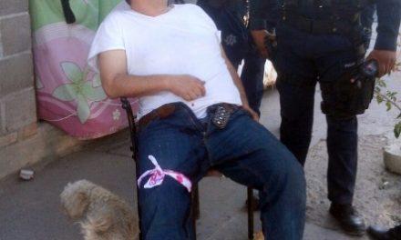 ¡Sujeto hirió de un balazo a otro en una pierna por una mujer en Aguascalientes!