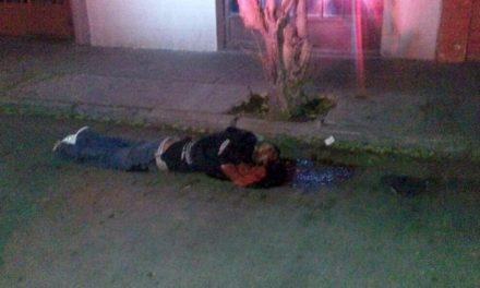 ¡Ejecutan a un sujeto de dos balazos en Aguascalientes!