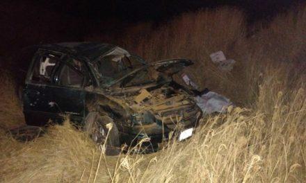 ¡Volcadura de camioneta dejó 1 muerto y 2 lesionados en Aguascalientes!