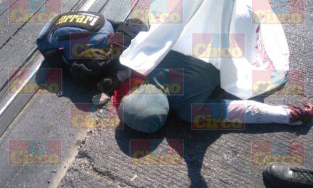 ¡Muere una persona atropellada cerca de las vías del tren en Lagos de Moreno!