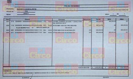 ¡Despilfarro de recursos en el Municipio de Aguascalientes, pagan más de 1 MDP por perifoneo!