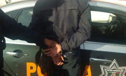 ¡Policías viales detuvieron a sujeto acusado de haber violado a otro en Aguascalientes!