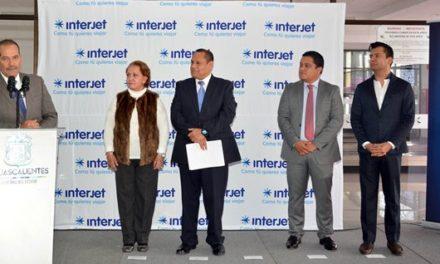 ¡Encabeza gobernador reinicio de operaciones de Interjet en Aguascalientes!