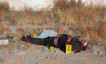 ¡Desconocido fue ejecutado a balazos en Fresnillo; el CDG se atribuyó el homicidio con un narco-mensaje!
