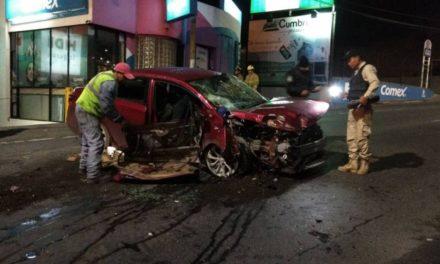 ¡Automovilista se mató tras fuerte accidente en Zacatecas!