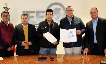 ¡Presenta Acción Nacional ante el IEE la Plataforma Electoral Legislativa 2018-2021!