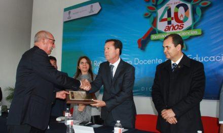 ¡Festejan 40° Aniversario de la Normal de Rincón de Romos!