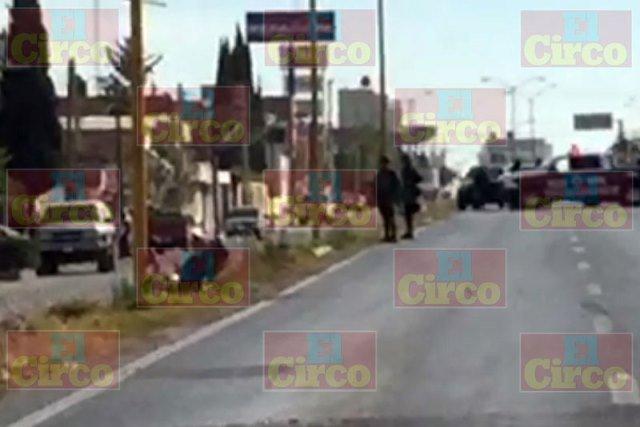 ¡Murió motociclista agredido a balazos en Fresnillo!