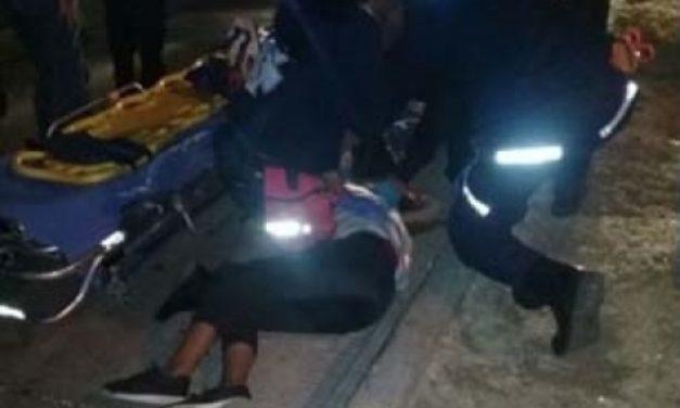 ¡Grave menor de edad que se electrocutó en un puente peatonal en Aguascalientes!