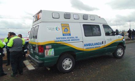 ¡Grave joven que se electrocutó y cayó de varios metros de altura en Aguascalientes!
