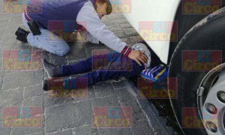¡Graves madre e hijo atropellados por un autobús de pasajeros en Lagos de Moreno!