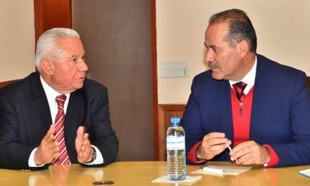 ¡Estado y Federación estrechan lazos para mantener la gobernabilidad de Aguascalientes!