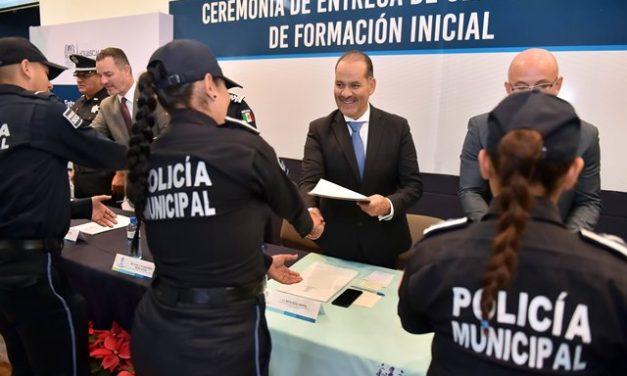 ¡Certificación del Sistema Nacional de Seguridad Pública otorga certeza y confianza a corporaciones!