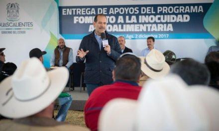 ¡Infraestructura de calidad y apoyo al campo para fortalecer desarrollo de municipios del interior!