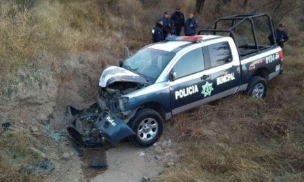 ¡Oficial de la Policía Municipal de Aguascalientes se mató tras accidentarse en su patrulla!