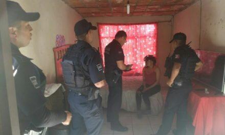 """¡Policías municipales rescataron a una joven de un """"picadero"""" en Aguascalientes!"""