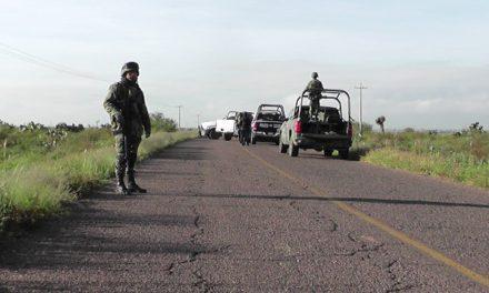 ¡Agresión armada contra policías federales en Pinos, Zacatecas!