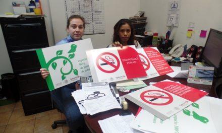 ¡ISSEA mantiene en vigilancia los espacios cien por ciento libres de tabaco!