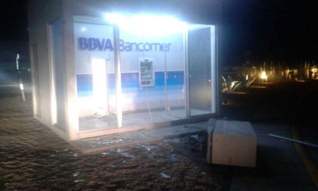 ¡Policías estatales y municipales de San Francisco de los Romo frustraron robo de cajero automático en Aguascalientes!