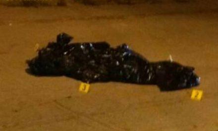 ¡Ejecutaron y embolsaron a un hombre en Guadalupe, Zacatecas!