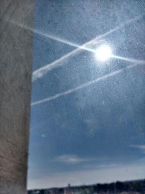 ¡Aparecen estelas en el cielo de Aguascalientes: PVEM!