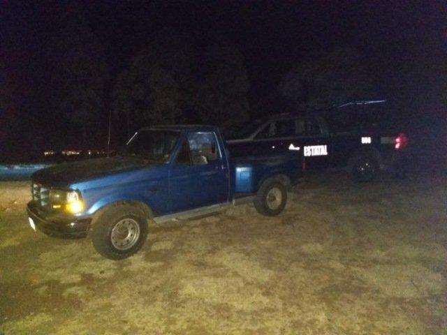 ¡Policías estatales detuvieron a 3 sujetos con 2 armas de fuego en Zacatecas!